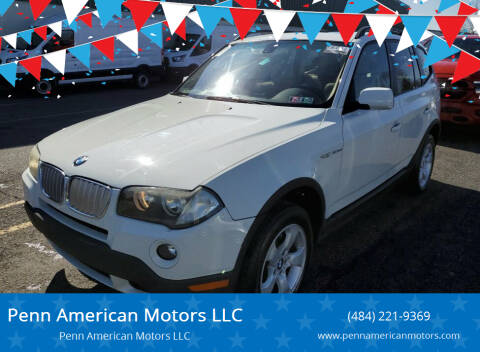2007 BMW X3 for sale at Penn American Motors LLC in Allentown PA