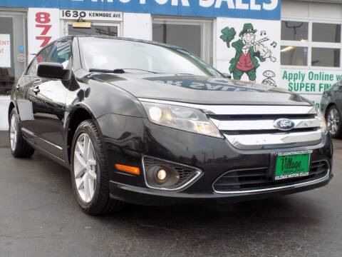 2012 Ford Fusion for sale at Village Motor Sales in Buffalo NY