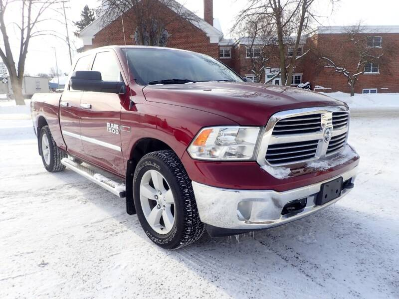 2016 RAM Ram Pickup 1500 for sale at Marvel Automotive Inc. in Big Rapids MI