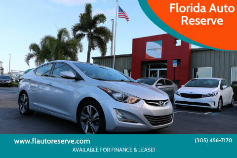 2014 Hyundai Elantra for sale at Florida Auto Reserve in Medley FL