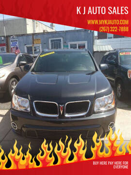 2008 Pontiac Torrent for sale at K J AUTO SALES in Philadelphia PA