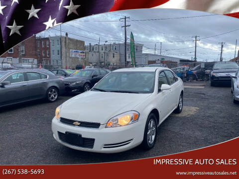 2008 Chevrolet Impala for sale at Impressive Auto Sales in Philadelphia PA