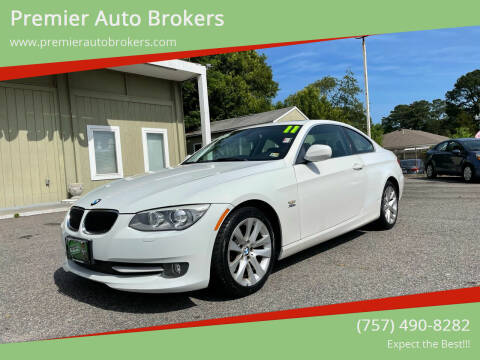 2011 BMW 3 Series for sale at Premier Auto Brokers in Virginia Beach VA