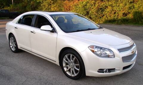 2011 Chevrolet Malibu for sale at Angelo's Auto Sales in Lowellville OH