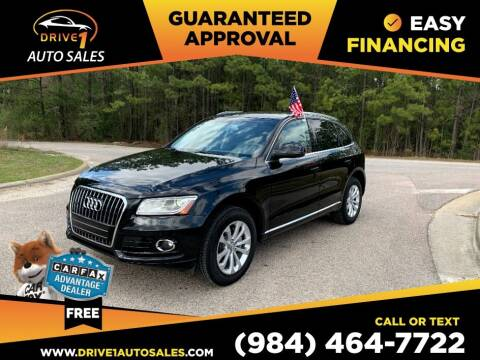 2014 Audi Q5 for sale at Drive 1 Auto Sales in Wake Forest NC