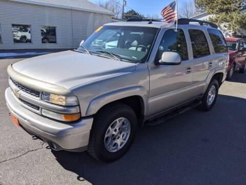 2004 Chevrolet Tahoe for sale at Progressive Auto Sales in Twin Falls ID