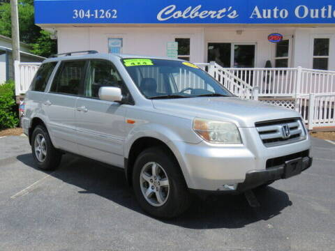 2006 Honda Pilot for sale at Colbert's Auto Outlet in Hickory NC