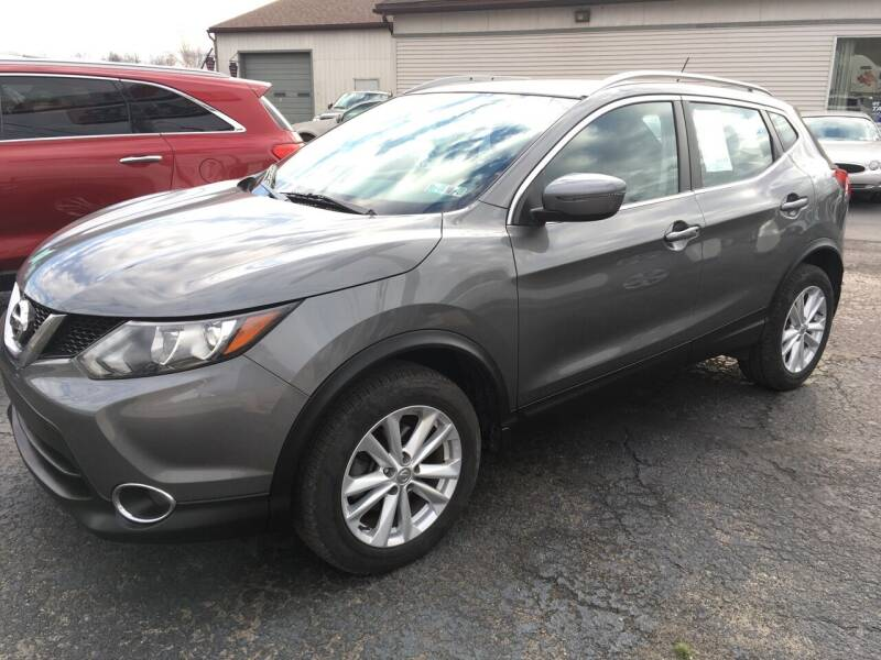 2017 Nissan Rogue Sport for sale at Rinaldi Auto Sales Inc in Taylor PA