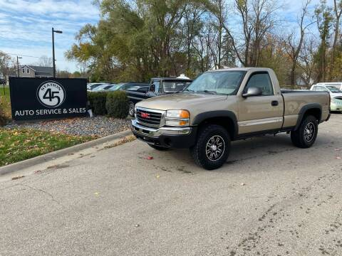 2005 GMC Sierra 1500 for sale at Station 45 Auto Sales Inc in Allendale MI