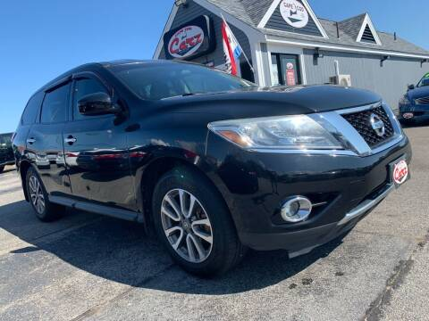 2013 Nissan Pathfinder for sale at Cape Cod Carz in Hyannis MA