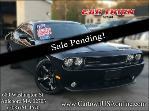 2013 Dodge Challenger for sale at Car Town USA in Attleboro MA