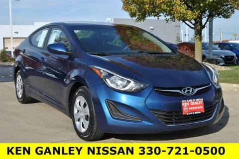 2016 Hyundai Elantra for sale at Ken Ganley Nissan in Medina OH