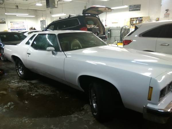 1977 Pontiac Grand Prix for sale at Classic Car Deals in Cadillac MI