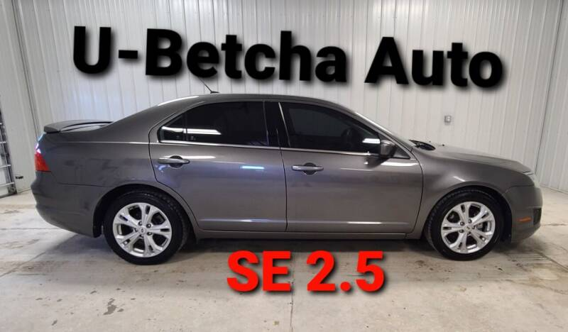 2012 Ford Fusion for sale at Ubetcha Auto in St. Paul NE