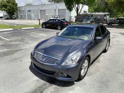 2011 Infiniti G37 Sedan for sale at Best Price Car Dealer in Hallandale Beach FL
