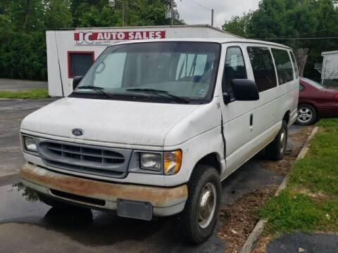 2001 Ford E-Series Wagon for sale at JC Auto Sales in Belleville IL