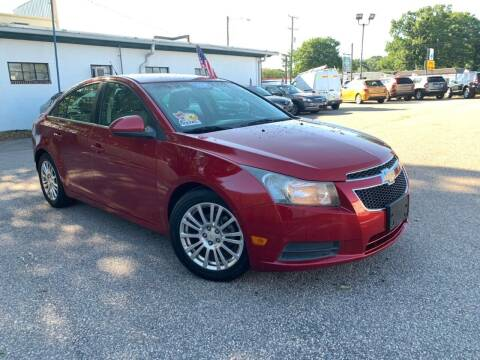 2011 Chevrolet Cruze for sale at Wheel Deal Auto Sales LLC in Norfolk VA