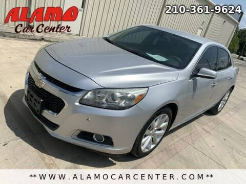 2014 Chevrolet Malibu for sale at Alamo Car Center in San Antonio TX