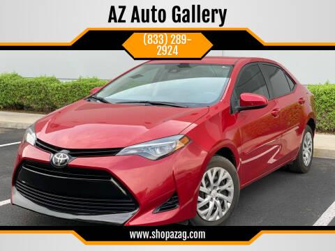 2018 Toyota Corolla for sale at AZ Auto Gallery in Mesa AZ