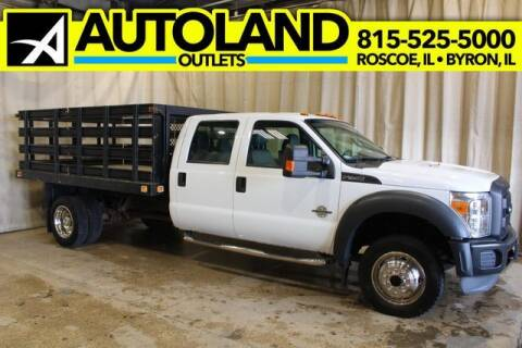 2013 Ford F-450 Super Duty for sale at AutoLand Outlets Inc in Roscoe IL