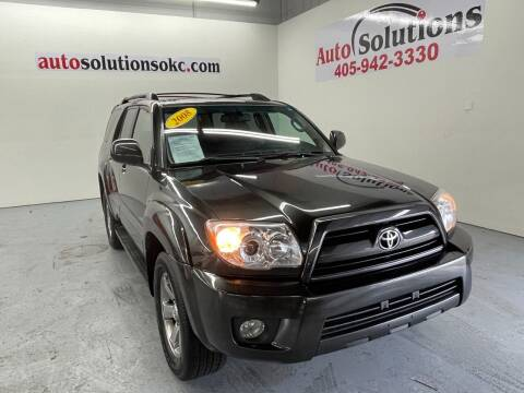 2008 Toyota 4Runner for sale at Auto Solutions in Warr Acres OK