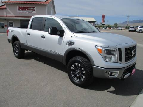 2016 Nissan Titan XD for sale at West Motor Company in Hyde Park UT