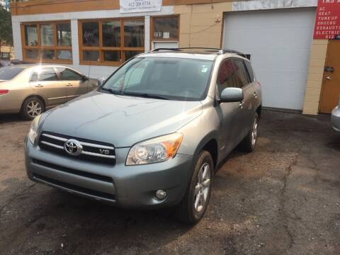 2007 Toyota RAV4 for sale at Time Motor Sales in Minneapolis MN