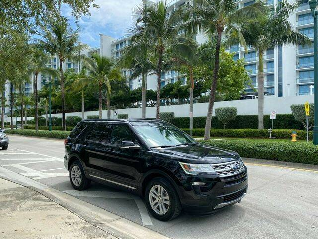 2018 Ford Explorer for sale in Hollywood, FL