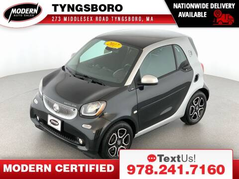 2017 Smart fortwo electric drive for sale at Modern Auto Sales in Tyngsboro MA