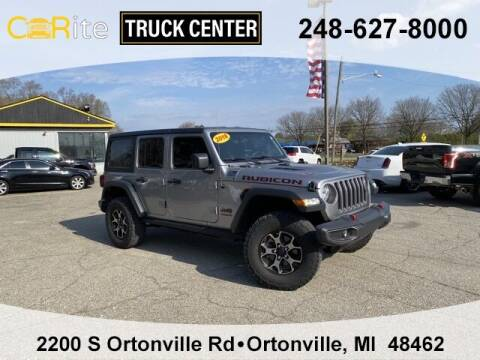 2018 Jeep Wrangler Unlimited for sale at Carite Truck Center in Ortonville MI