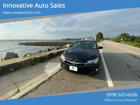 2016 Toyota Camry for sale at Innovative Auto Sales in North Hampton NH
