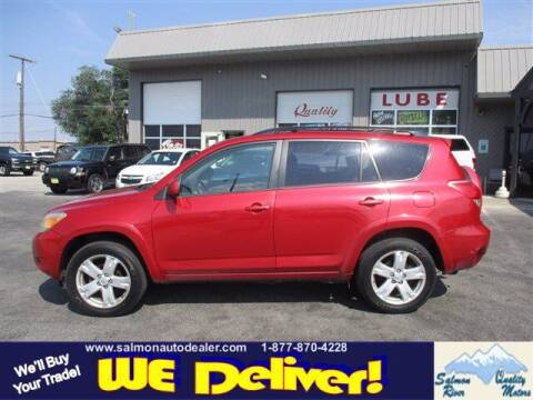 2007 Toyota RAV4 for sale at QUALITY MOTORS in Salmon ID
