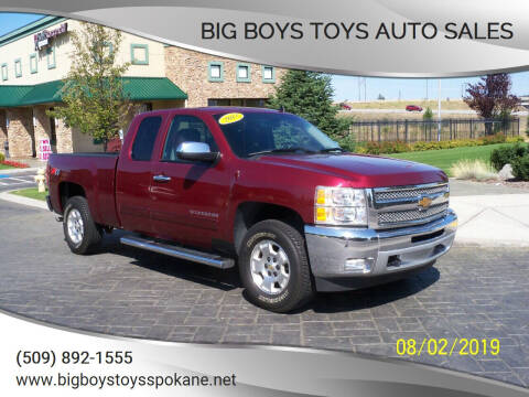 2013 Chevrolet Silverado 1500 for sale at Big Boys Toys Auto Sales in Spokane Valley WA