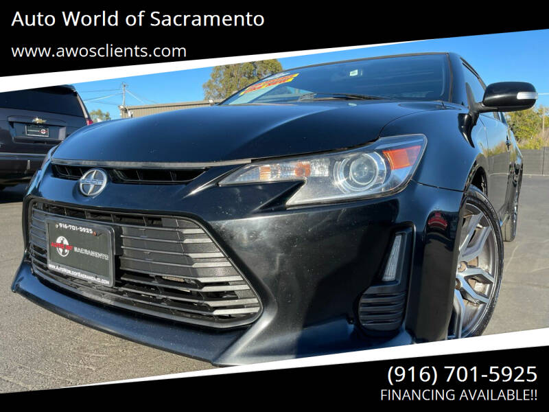 2016 Scion tC for sale at Auto World of Sacramento Stockton Blvd in Sacramento CA