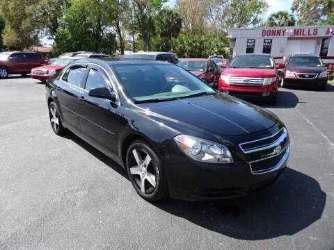 2012 Chevrolet Malibu for sale at DONNY MILLS AUTO SALES in Largo FL