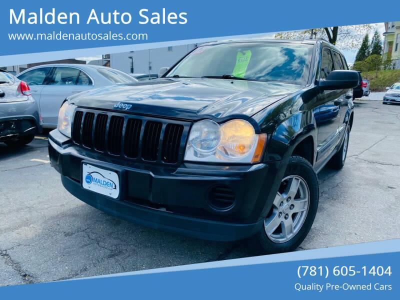 2005 Jeep Grand Cherokee for sale at Malden Auto Sales in Malden MA