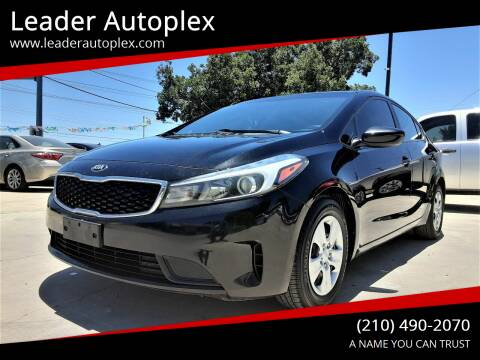 2017 Kia Forte for sale at Leader Autoplex in San Antonio TX