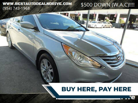 2012 Hyundai Sonata for sale at Best Auto Deal N Drive in Hollywood FL