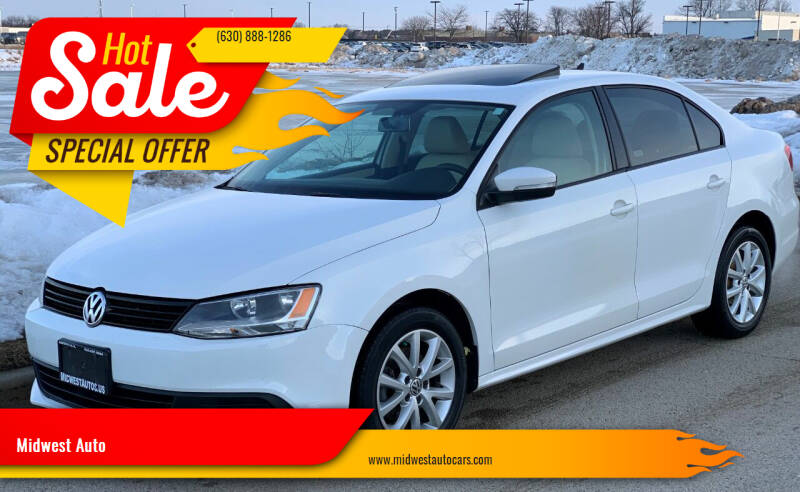 2011 Volkswagen Jetta for sale at Midwest Auto in Naperville IL