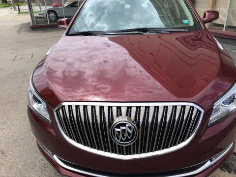2015 Buick LaCrosse for sale at Berwyn S Detweiler Sales & Service in Uniontown PA