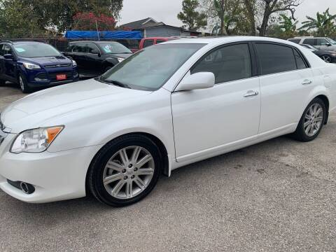 2010 Toyota Avalon for sale at FAIR DEAL AUTO SALES INC in Houston TX
