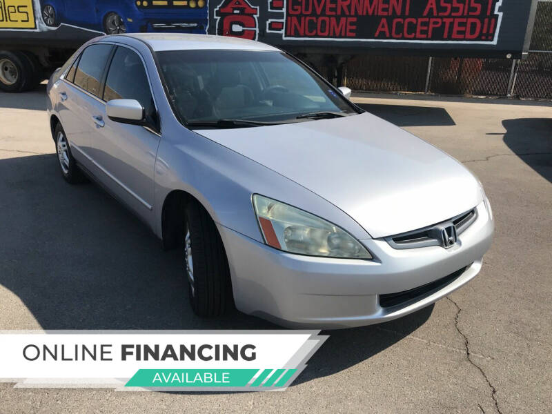 2004 Honda Accord for sale at Rock Star Auto Sales in Las Vegas NV