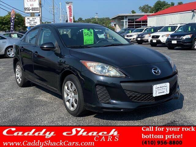 2013 Mazda MAZDA3 for sale at CADDY SHACK CARS in Edgewater MD