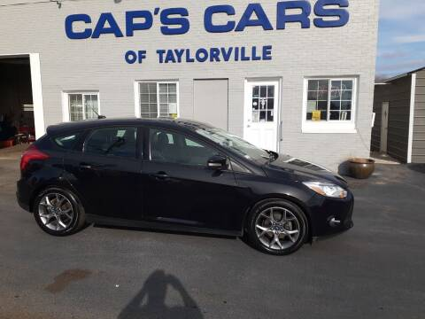 2013 Ford Focus for sale at Caps Cars Of Taylorville in Taylorville IL