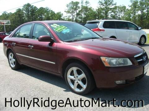 2008 Hyundai Sonata for sale at Holly Ridge Auto Mart in Holly Ridge NC