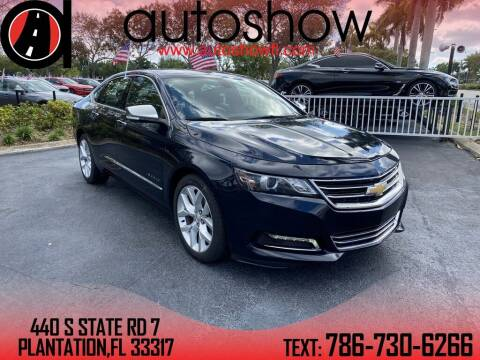 2019 Chevrolet Impala for sale at AUTOSHOW SALES & SERVICE in Plantation FL