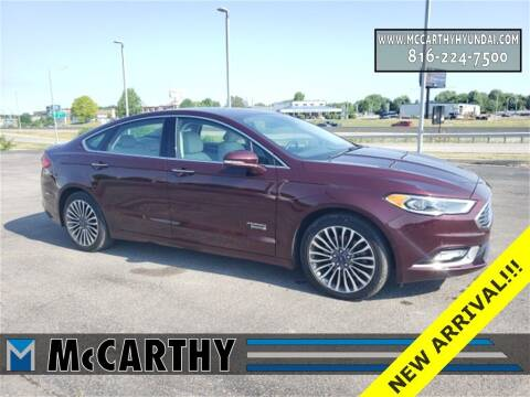 2017 Ford Fusion Energi for sale at Mr. KC Cars - McCarthy Hyundai in Blue Springs MO
