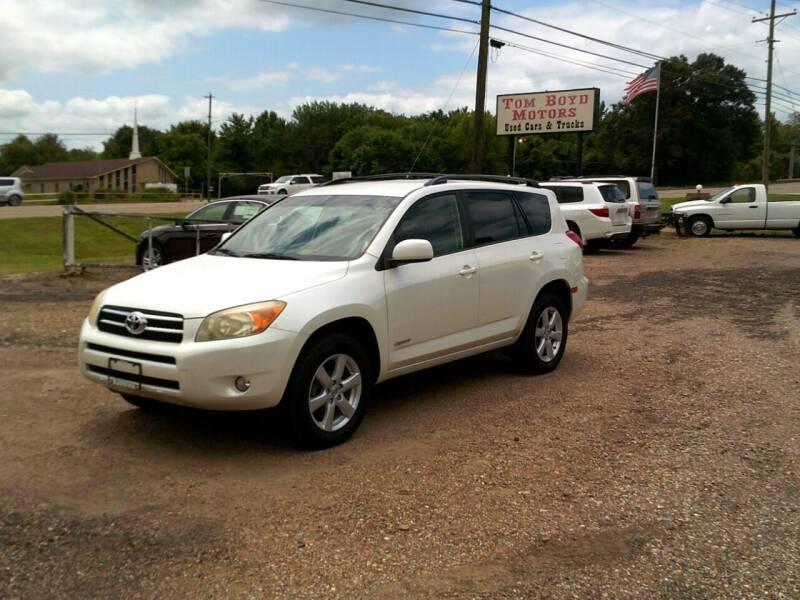2007 Toyota RAV4 for sale at Tom Boyd Motors in Texarkana TX