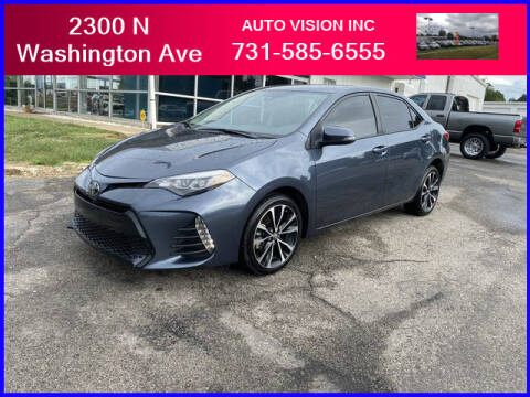 2019 Toyota Corolla for sale at Auto Vision Inc. in Brownsville TN