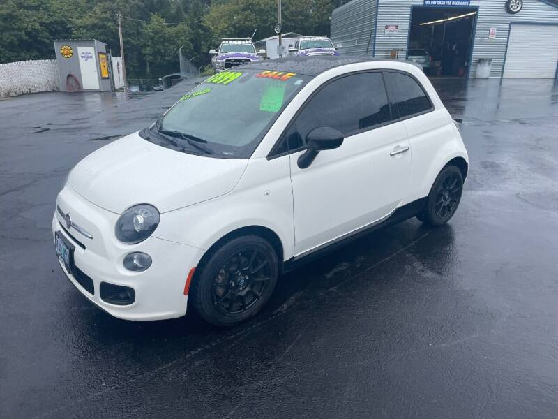 2017 FIAT 500 for sale at 3 BOYS CLASSIC TOWING and Auto Sales in Grants Pass OR